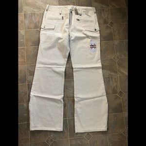 Silver Burma Jeans